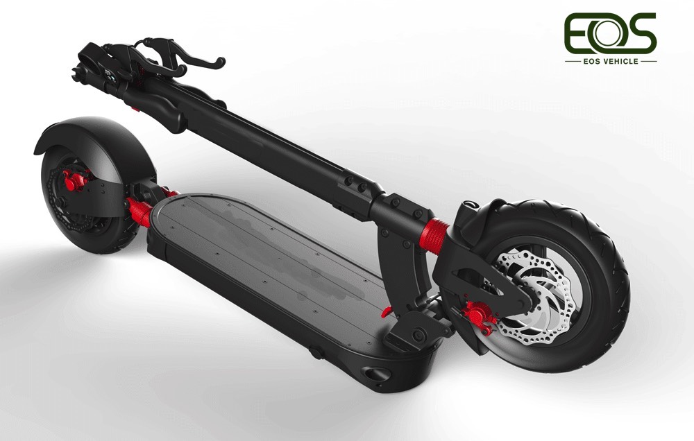 10S OEM E-Power Motor 800W Foldable Mobility Off Road Electric Scooter for adult with high performance